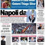 """Corriere dello Sport: Mancini a casa Milan """"Datemi Thiago Silva"""""""