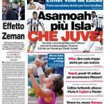 Corriere dello Sport: Asamoah+Isla, che Juve