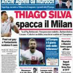 Corriere dello Sport: Thiago Silva spacca il Milan