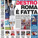 Corriere dello Sport: Destro Roma è fatta