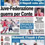 Corriere dello Sport: Juve-Federazione, guerra per Conte