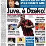 Corriere dello Sport: Juve, è Dzeko