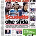Corriere dello Sport: Juve Napoli Lazio Scudetto che sfida