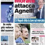 Corriere dello Sport: Moratti attacca Agnelli