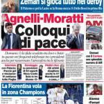 Corriere dello Sport: Agnelli-Moratti, colloqui di pace
