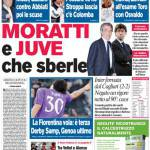 Corriere dello Sport: Moratti e Juve, che sberle