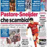 Corriere dello Sport: Pastore-Sneijder, che scambio