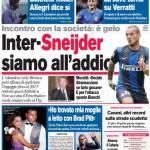 Corriere dello Sport: Inter-Sneijder, siamo all'addio
