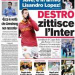 Corriere dello Sport: Destro zittisce l'Inter