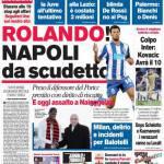 Corriere dello Sport: Rolando! Napoli da Scudetto