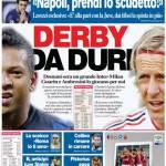 Corriere dello Sport: Derby da duri