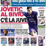 Corriere dello Sport: Jovetic al bivio, c'è la Juventus