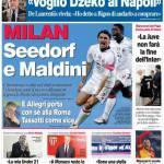 Corriere dello Sport: Milan, Seedorf e Maldini