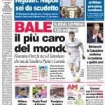 Corriere dello Sport: Bale il più caro del mondo