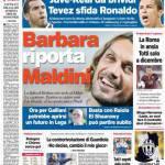 Corriere dello Sport: Barbara riporta Maldini