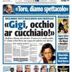 """Tuttosport: """"Gigi, occhio ar cucchiaio"""""""