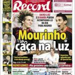Record: Mourinho vuole David Luiz e Di Maria