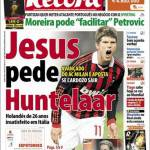 Record: Jesus chiede Huntelaar