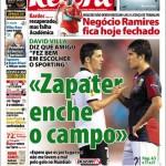 """Record: David Villa: """"Zapater riempie il campo"""""""