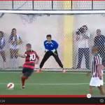 Video – Spettacolare rigore di Djalminha: il brasiliano segna di Rabona!