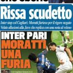 Rassegna stampa: Moratti e Juve che sberle, rissa scudetto, velate allusioni alla Juve che replica al veleno… – Foto