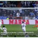 Video – Real Madrid-Siviglia 7-3! Tripletta di CR7, doppietta di Bale