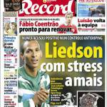 Record: Fabio Coentrao pronto per rinnovare
