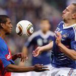 Amichevole Mondiali Sudafrica 2010, Francia-Costa Rica 2-1