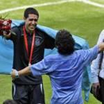 """Mondiali 2010, Riquelme: """"Con Maradona non vado"""""""