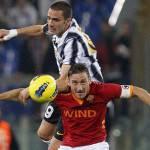 Roma-Juventus, formazioni ufficiali: Totti-Osvaldo-Lamela contro Vucinic-Matri