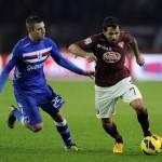 Calciomercato Napoli, agente Santana: si trova bene al Torino, Ventura lo stima