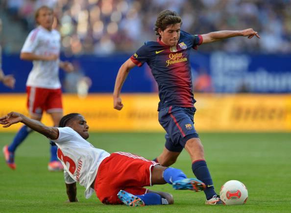 FC Barcelona's midfielder Sergi Roberto