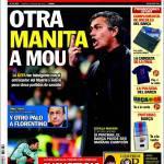 """Sport: Altra """"manita"""" a Mourinho"""
