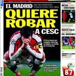 Sport: Il Real Madrid vuole rubare Cesc