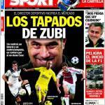 Sport: los tapados de Zubi