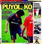 Sport: Puyol k.o.