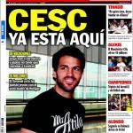 Sport: Cesc è già a Barcellona