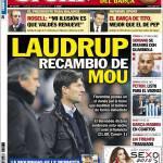 Sport: Laudrup sostituto di Mourinho