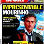 Sport: Impresentabile Mourinho