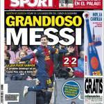 Sport, Grandioso Messi