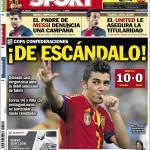 Sport: Confederations Cup scandalosa