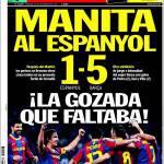 Sport: Manita all'Espanyol