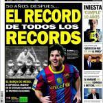 Sport: il record di tutti i record