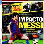 Sport: Impatto Messi