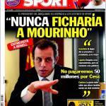 Sport: Non avremmo mai preso Mourinho