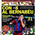 Sport: Al Bernabeu col +8