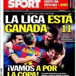 Sport: La Liga è vinta, andiamo per la coppa!