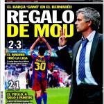 Sport: Regalo di Mourinho