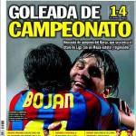 """Sport: """"Goleada di Campionato"""""""