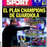 Sport: il piano Champions di Guardiola